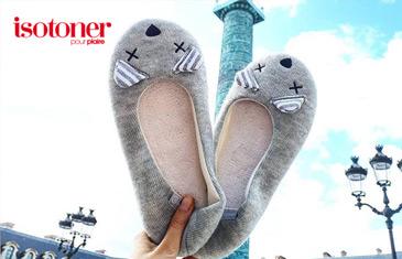 Isotoner. Домашняя обувь из Франции