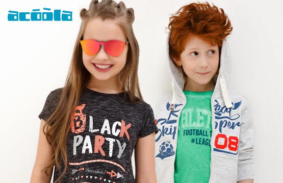 Acoola. Новинки летней коллекции для детей от 2 до 14 лет