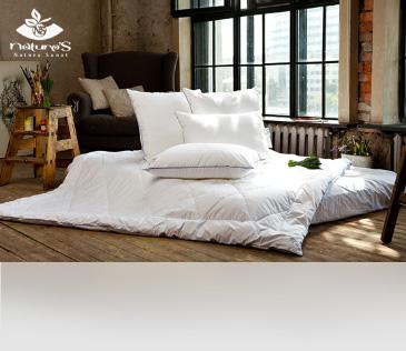 Nature's. Подушки и одеяла для всей семьи