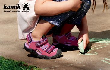 Kamik. Летняя обувь и резиновые сапоги