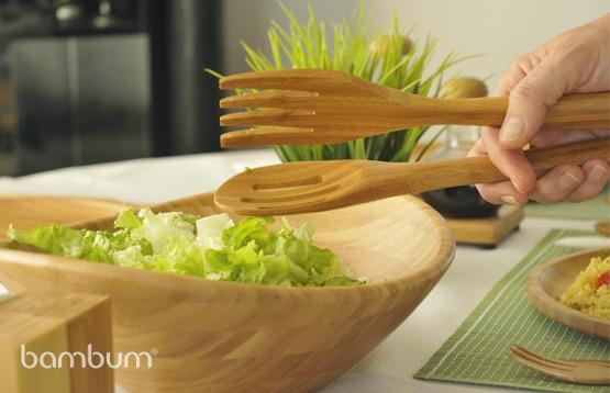 Bambum. Кухонные принадлежности из бамбука