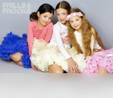 Frills&Frocks. Пышные юбки для девочек