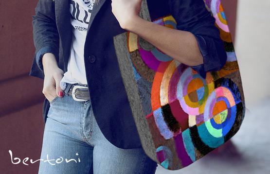 Bertoni. Польские сумки из эко-войлока