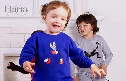 Elaria. Трикотаж для детей от 0 до 14 лет
