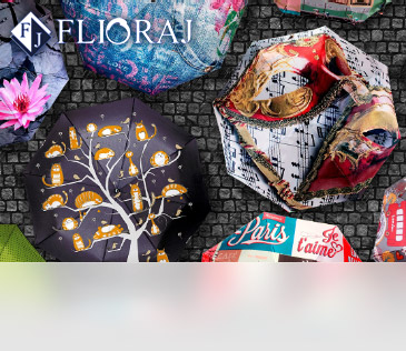 Flioraj. Коллекция зонтов