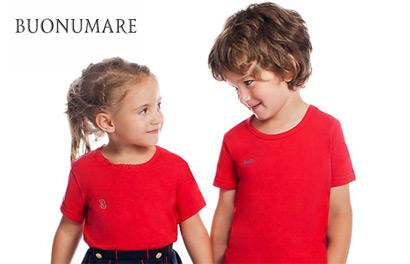 Buonumare. Детские футболки и нижнее белье