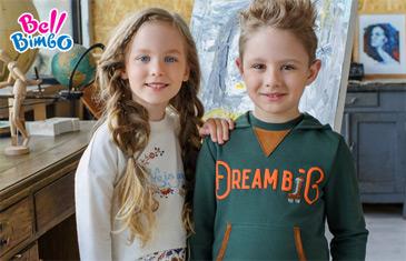 Bell Bimbo. Одежда для детей 3-14 лет