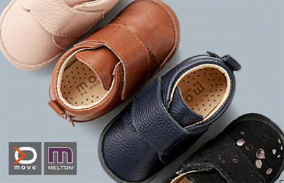 Move. Детская обувь от Melton Group (Дания)