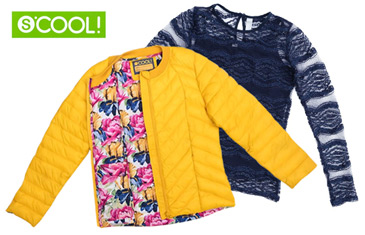 S'cool. Коллекция повседневной одежды для школьников