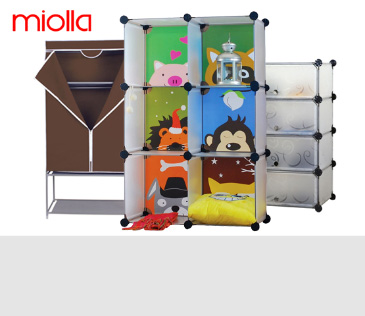 Miolla. Системы хранения и домашний текстиль