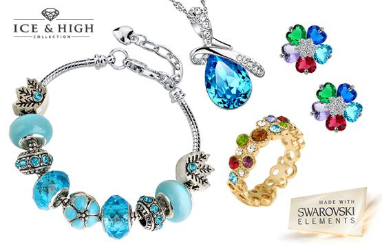 Ice&High. Украшения с цветными кристаллами Swarovski