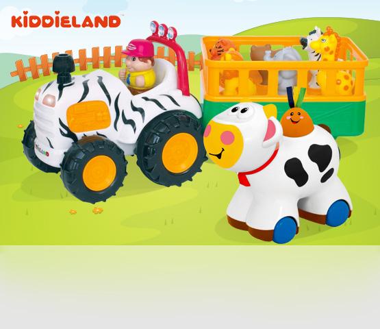 Kiddieland. Развивающие игрушки для детей от 1 года