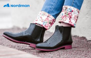 Nordman. Непромокаемая обувь для детей и взрослых