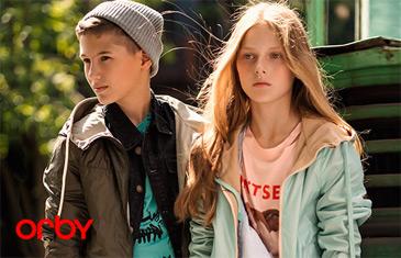 Распродажа детской одежды от Orby
