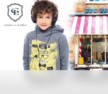 Gino de Luka. Одежда для мальчиков от 3 до 12 лет