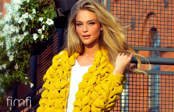 Fimfi. Коллекция вязаной трикотажной одежды