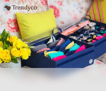 Trendyco. Коробки-органайзеры для хранения