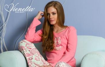 Vienetta Secret. Домашняя одежда детей и взрослых