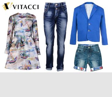 Vitacci Kids. Одежды для девочек и мальчиков