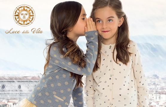 Luce della Vita. Одежда для девочек 3-12 лет