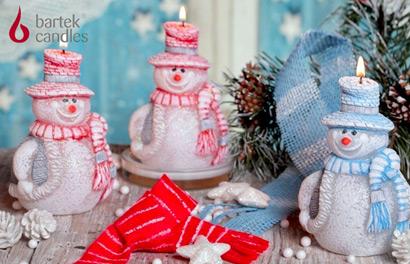 Bartek Candles. Декоративные и ароматизированные свечи