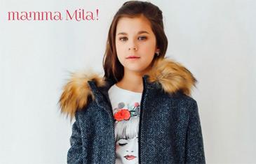 Mamma Mila. Пальто и плащи для детей 2-14 лет