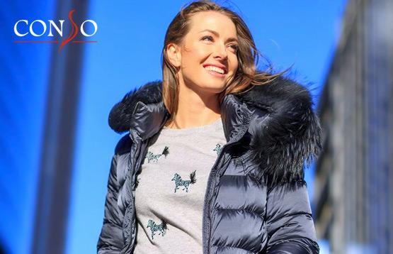 Conso. Женская верхняя одежда и аксессуары