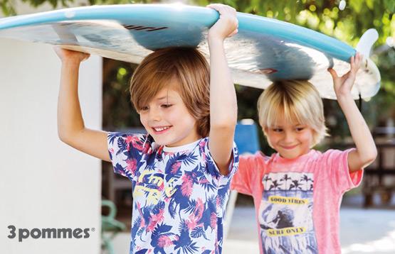 3pommes. Распродажа более 450 моделей детской одежды из Франции