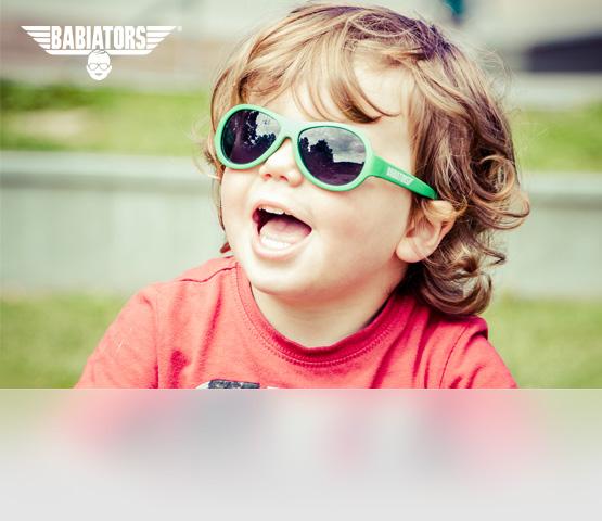 Babiators. Солнцезащитные очки для детей от 0 до 14 лет
