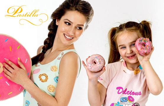 Pastilla. Детская и женская домашняя одежда