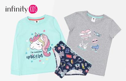 Infinity Kids. Детское белье, носки, пижамы
