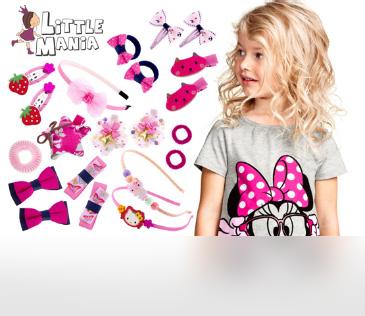 Little Mania. Детская бижутерия и аксессуары для волос