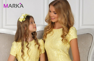 Mark'a. Платья для мамы и дочки