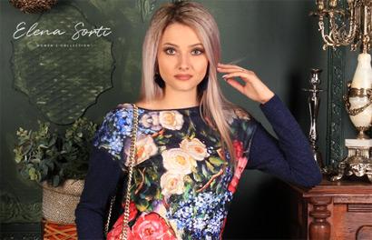 Elena Sorti. Женская одежда с эксклюзивными принтами