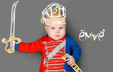 Ёмаё — трикотажная одежда для новорожденных и детей до 8 лет