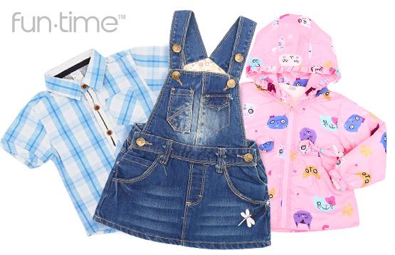 Fun Time. Одежда для детей от 1 года до 12 лет