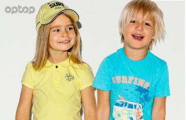 Optop. Трикотажная одежда для детей от 2 года до 9 лет