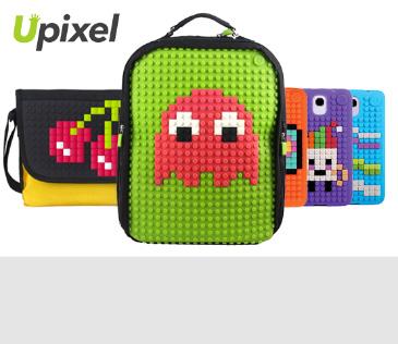 Upixel. «Пиксельные» рюкзаки-мозаики и другие аксесуары