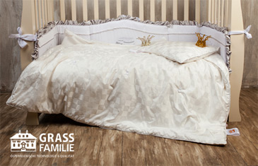 Grass Familie. Текстиль премиум-класса