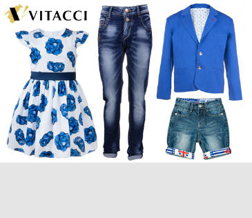Vitacci Kids. Более 180 моделей для девочек и мальчиков