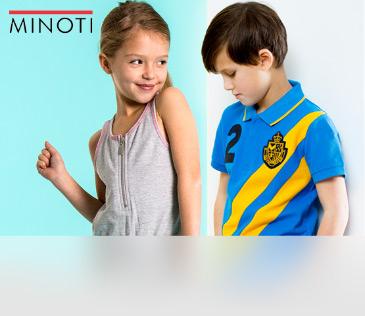 Minoti. Одежда из Англии для детей от 3 до 13 лет