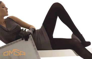 Omsa. Женские колготки и мужские носки