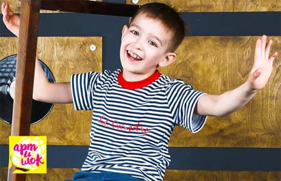 Артишок. Детская одежда из хлопкового трикотажа