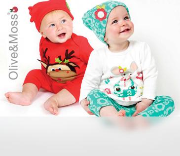 Olive and Moss. Дизайнерская одежда для малышей до 3 лет
