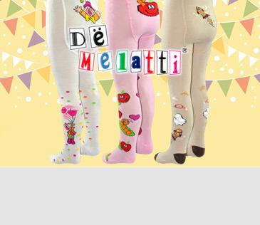 Dё Melatti. Детские колготки и носки
