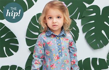 The hip! Одежда для детей от рождения до 5 лет