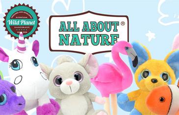 Wild Planet. Мягкие игрушки