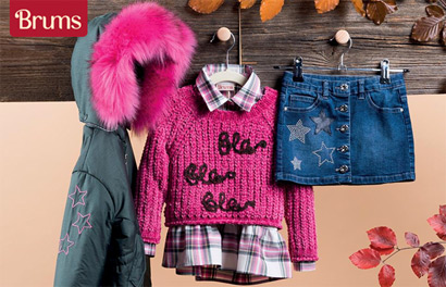 Brums. Новинки детской одежды из Италии