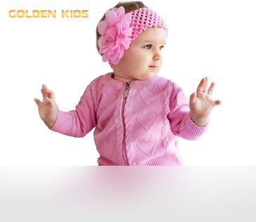 Golden Kids. Вязаный детский трикотаж из полушерсти и хлопка
