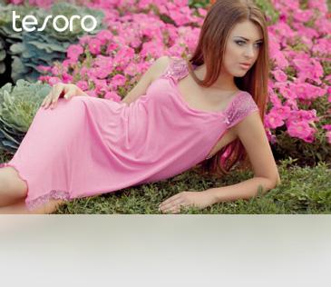 Tesoro. Женская одежда для отдыха и сна